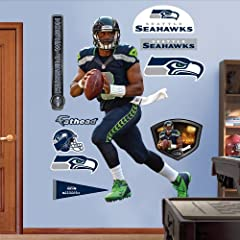 Buy NFL Seattle Seahawks Russell Wilson Wall Graphics by Fathead