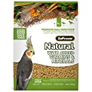 ZUPREEM 230354 Natural Medium Bird Food, 20-Pound