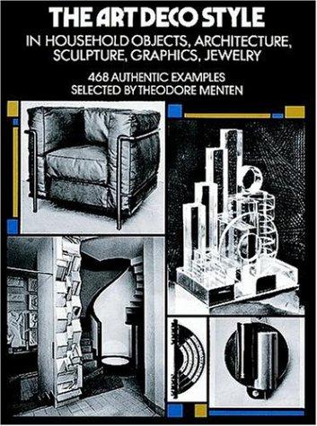 The Art Deco Style (Dover Architecture), THEODORE MENTEN