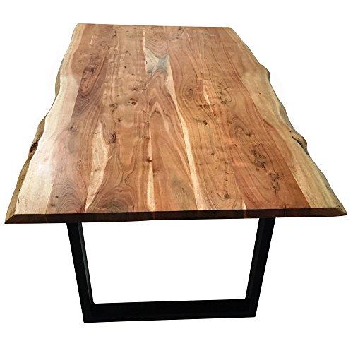esstisch massivholz stahl com forafrica. Black Bedroom Furniture Sets. Home Design Ideas