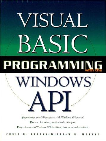 Visual Basic Programming Windows API