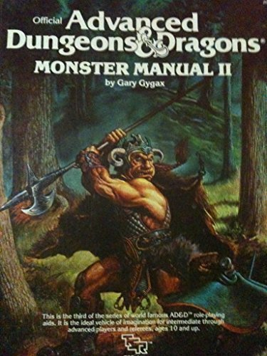Advanced Dungeons and Dragons: Monster Manual II (#2016) PDF