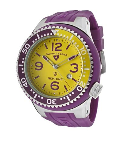 Swiss Legend Reloj Neptune Morado