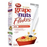 Post Grape Nuts Flakes Cereal, 18-Ounce Boxes (Pack Of 5) By Grape Nuts [Foods]
