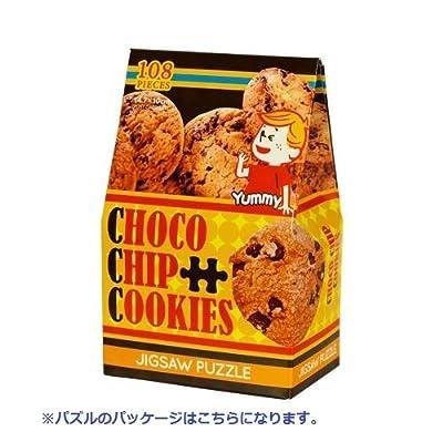 108ピース ジグソーパズル キャンディコレクション チョコチップクッキー マイクロピース(10x14.7cm)