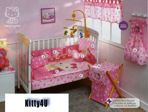 Hello Kitty Baby Bedding 6926 front