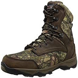 Rocky Men\'s 8 Inch Retraction 800G Hunting Boot, Break Up Country, 11.5 W US