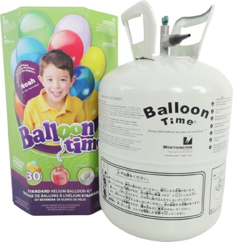 Toy / Game Worthington Cylinders Standard Helium Balloon Kit (9.8 X 9.8 X 16.9 Inches) - Great For (Standard Helium Balloon Kit)