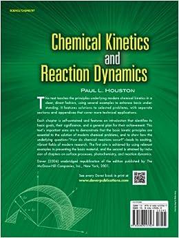 chemical kinetics and reaction dynamics paul houston pdf