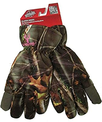 Women's Insulated Classic Cold Weather Camo Ladies Hunting Glove