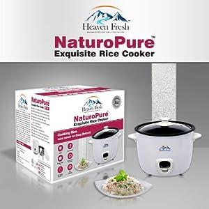 Heaven Fresh HF 1011 NaturoPure Non Stick Electric Rice Cooker 1.5 Litre
