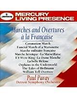 Marches And Overtures A La Française