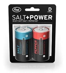 SALT AND POWER Salt and Pepper Set