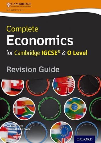 Complete economics for Cambridge IGCSE Revision guide Con espansione online Per le Scuole superiori PDF