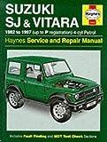 Suzuki SJ410/SJ413 (82-97) & Vitara Service and Repair Manual (Haynes) New Edition by Bob Henderson, A.K. Legg LAE MIMI published by Haynes Manuals Inc (2000)