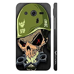 Enthopia Designer Hardshell Case MILITARY SKULL Back Cover for Samsung Galaxy Core 2