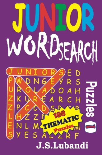Junior Word Search Puzzles: Volume 1