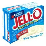 Jell-O Sugar-Free Instant Pudding & Pie Filling, White Chocolate, 1-Ounce Boxes (Pack of 24)