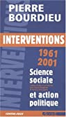 Interventions politiques 1964 - 2000