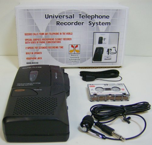 Telephone Recorder - Record Cell Phone Calls and Record From Any Telephone