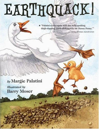 Earthquack!, MARGIE PALATINI, BARRY MOSER