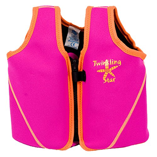 Splash About Swim Vest With Adjustable Buoyancy (Pink Bobbing Along, 1-3 Years) front-561973