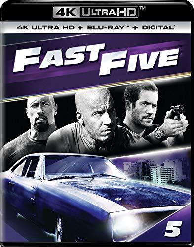 4K Blu-ray : Fast Five (2 Discos)