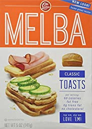 OLD LONDON MELBA TOAST CLASSIC, 5 OZ