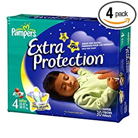 Pampers Extra Protection Reviews