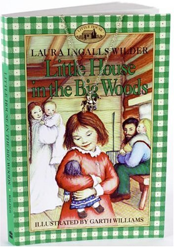 Little House in the Big Woods Book and Charm (Charming Classics)
