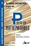 echange, troc Daniel Guinin, Bernard Joppin - Précis de mathématiques, tome 5 : Algèbre et géométrie, Prépas MP - 2e année