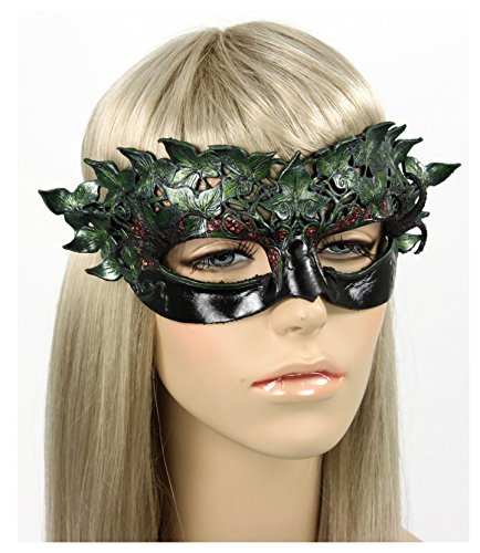 Handcrafted Leather Poison Ivy Mask