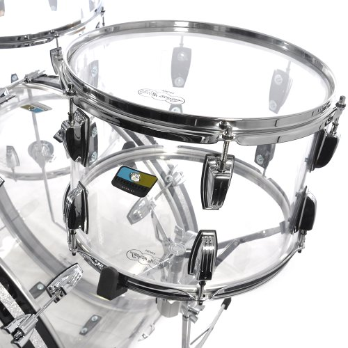 Ludwig Vistalite 3pc Kit 13/16/24 Clear