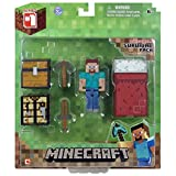 Minecraft Core Player Survival Pack Action Figure