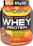 Body Fortress Super Advanced Whey Protein, Chocolate Peanut Butter, 1.95 lb. (885 g) by Body Fortress