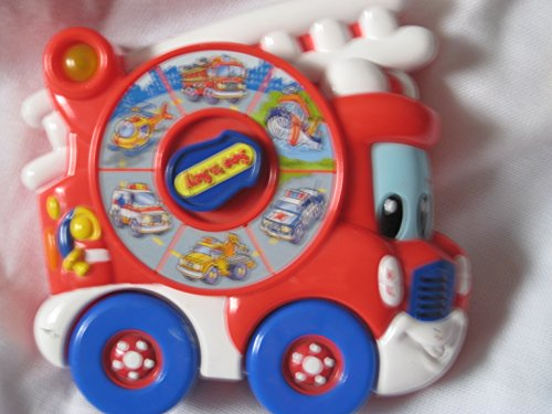 Rare See N Say Firetruck Sounds Electronic Toy - 1