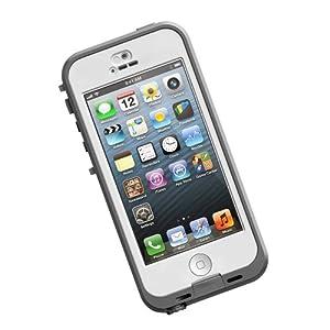 LifeProof nüüd, wasserdichte Schutzhülle für Apple iPhone 5c weiß/klar