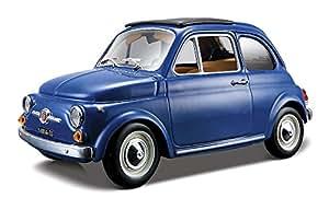 Amazon.com: Bburago 1965 Fiat Diecast Model Car (1:24 Scale), Yellow