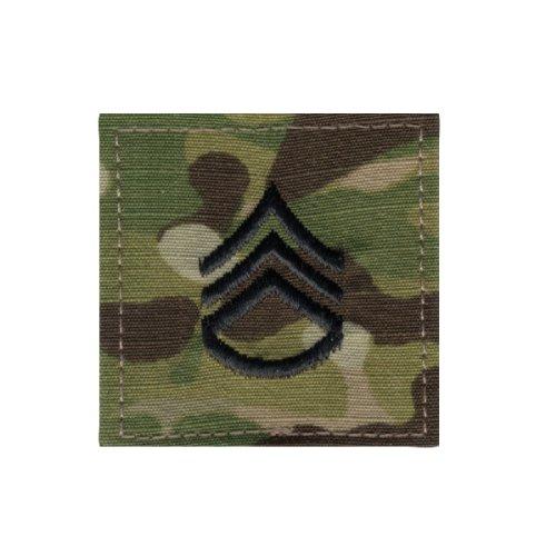 Multicam Staff Sergeant Insignia