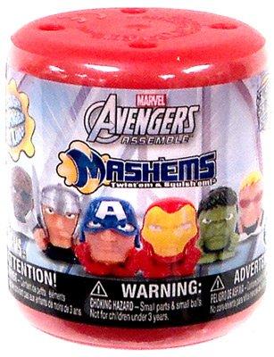 Marvel Mash'ems Avengers Assemble Squishy Mini Figure PACK [1 Random Figure] - 1