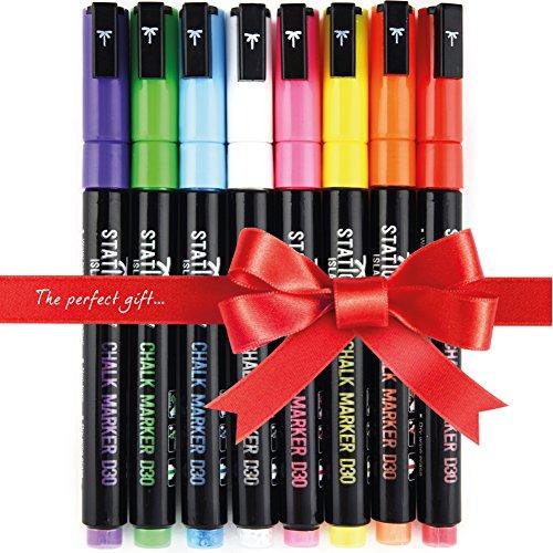 marqueurs-craie-stationery-island-d30-8-couleurs-assorties-feutres-craie-a-encre-liquide-pointe-ogiv