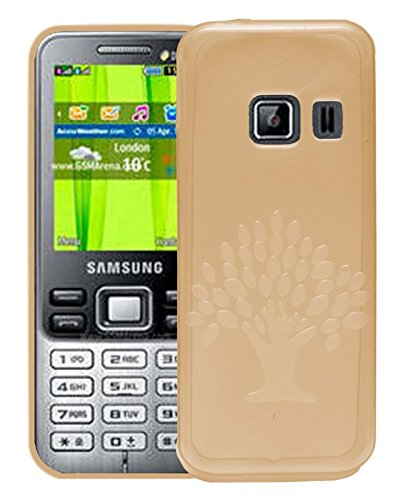 Samsung Metro Duos C3322 Case,Orange Soft, Lightweight,Shock Absorbing Tpu Back Case Cover  available at amazon for Rs.195