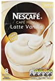 Nescafe Cafe Menu Vanilla Flavour 8 Sachets 148 g (Pack of 6, Total 48 Sachets)