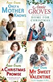 ANNIE GROVES ANNIE GROVES ONLY A MOTHER KNOWS HOME FOR CHRISTMAS A CHRISTMAS PROMISE & MY SWEET VALENTINE