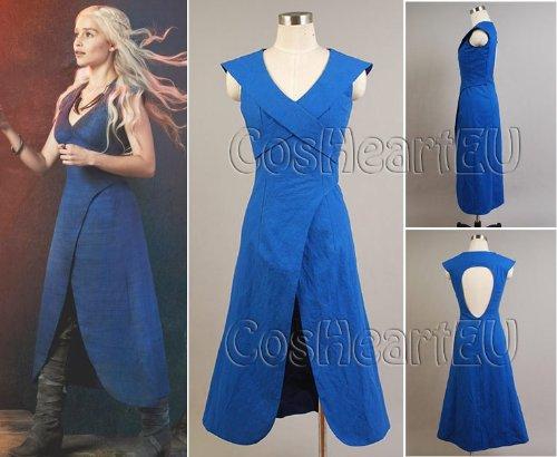 Game of Thrones Daenerys Targaryen Costume da
