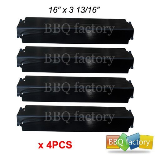 Best Review Of 93321 (4-pack) Porcelain Steel Heat Plate Replacement for Select Gas Grill Models, Ch...