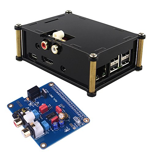 kuman-sc08c-i2s-interface-pifi-digi-dac-hifi-digital-audio-sound-card-acrylic-case-fur-raspberry-pi-