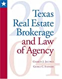 img - for Texas Real Estate Brokerage and Law of Agency: 2004 Update book / textbook / text book