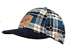 Scruffs Check Peak Bump Cap