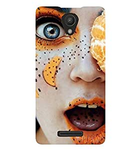PRINTSWAG GIRL ART Designer Back Cover Case for XIAOMI REDMI 3S